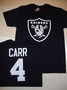 size 40 42dc6 e67b3 Details about 9715 Mens Oakland Raiders DEREK CARR