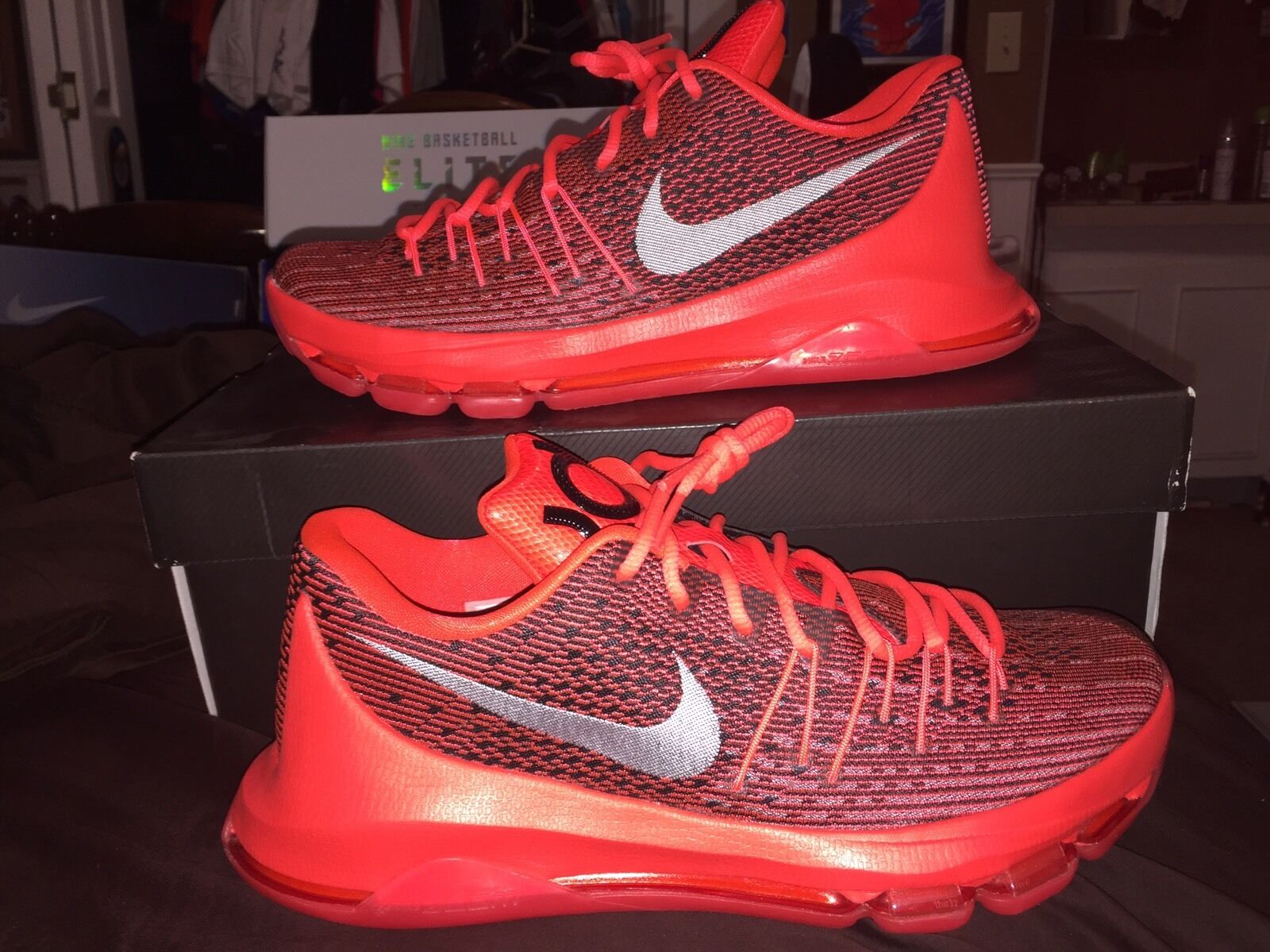 KD 8 749375 V8. Red. Size 9. 749375 8 610 538dba