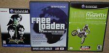FREE LOADER Import Game Player UK NINTENDO GAMECUBE + Soul Calibur II Supercross
