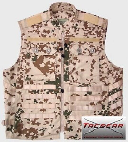 TACGEAR inserto gilet esercito tedesco TROPICALE German army BW operators Vest Gilet