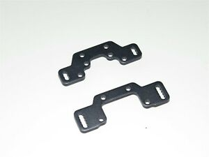 TKR7202 TEKNO RC ET410.2 TRUGGY FRONT REAR CAMBER MOUNT PLATES