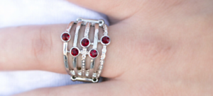Close Ranks Paparazzi Ring Red