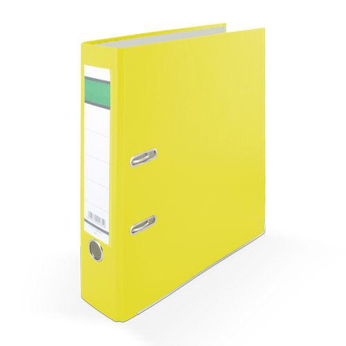 Farbe PP gelb DIN A4 2x Ordner 80mm breit