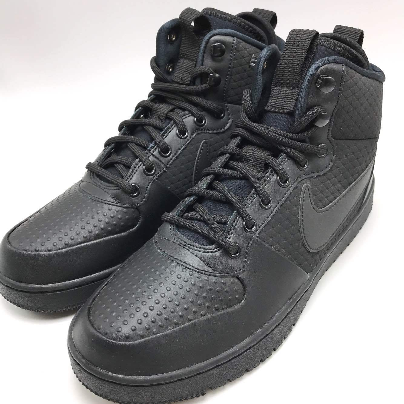 Nike Court Borough MID Winter Men's shoes Black/Black AA0547-002