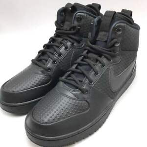Nike Court Borough MID Winter Men s shoes Black Black AA0547-002   eBay 26c044e90a