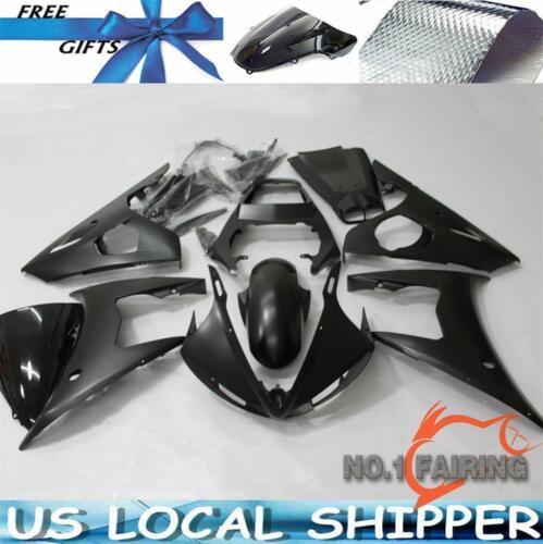 Matte Black Fairing Kit Bodywork Set For YAMAHA YZF R6 2003-2004 R6S 2006-2009