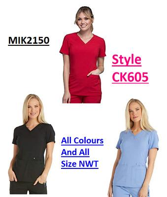 Cherokee Womens Scrubs Flexibles Maternity Top 2892 Choose Colors /& Sizes NWT