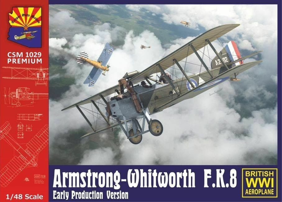 1 48 Copper State Models  K1029 - Armstrong Whitworth FK8 early version