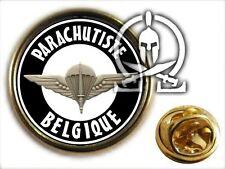 ..: Pin's :.. PARACHUTISTE BELGIQUE - para codo BELGIUM belgian composante terre