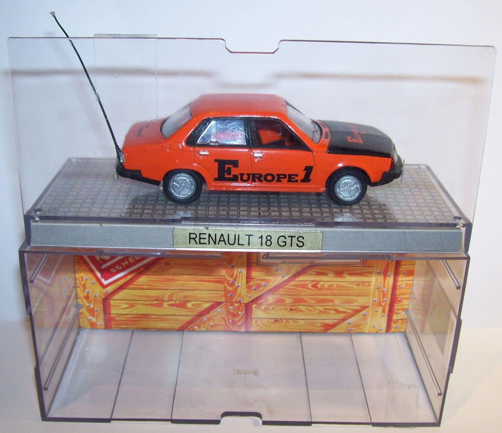 NOREV RENAULT 18 GTS R18 EUROPE 1 TOUR DE FRANCE 1979 REF 511805 1 43 BOX