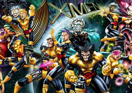 Various Sizes X Men Comic Hero Collage Giant 1 Piece Wall Art Poster Print