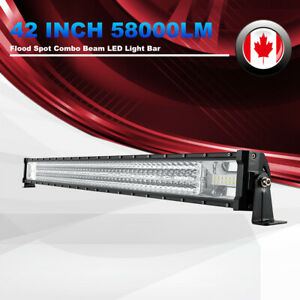 580W LED Work Light Pod 42 Inch LED Light Bar Auxiliary Offroad Driving Lights