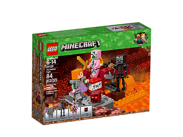N 21139 Minecraft The Nether Fight