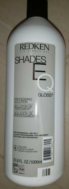 Redken 5th Avenue NYC SHADES EQ GLOSS PROCESSING SOLUTION Treatment ~ 33.8 oz!!