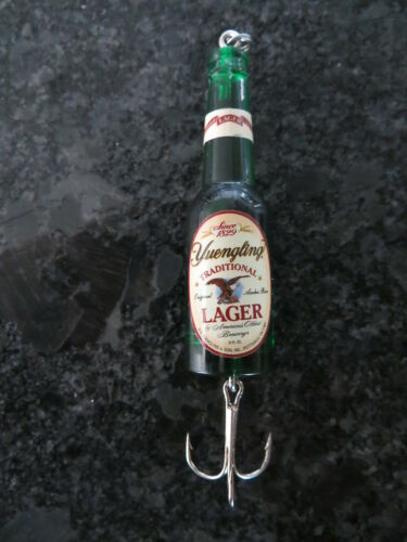 YUENGLING LAGER 3 inch Custom Beer Bottle Fishing Lure