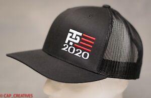 Make America Great Again- Donald Trump Hat 2020 -TP Flag US Black ... 969c74fe7867
