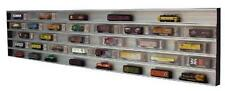N Scale Train Display Case Expandable Dust Sealed  with mirror Background