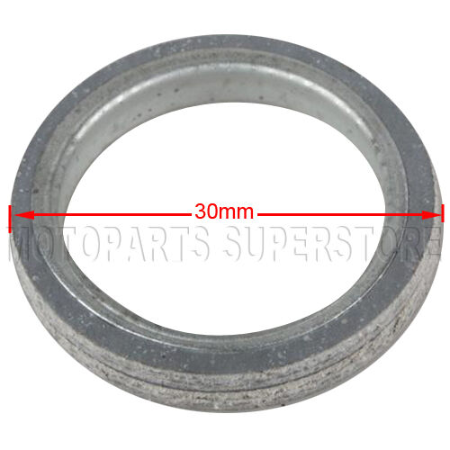 30mm Exhaust Muffler Pipe Gasket for GY6 150cc QMB139 ATV Go Kart Scooter Moped