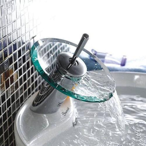 Design Wasserfall Wasserhahn Badarmatur Waschtischarmatur Waschbecken Armatur DE
