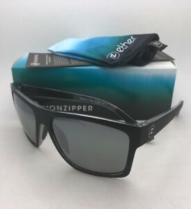 90733a10ed Image is loading ETHER-Collection-VONZIPPER-Sunglasses-DIPSTICK-Black -Satin-Frame-