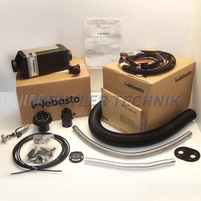 Webasto Diesel Heater Air Top 2000 STC single outlet kit 12v - latest 2018 model