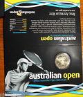 """2012 $1 Australian Open Tennis """" Official Australian open Men's $1 Coin """""""