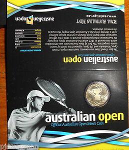 """2012 $1 Australian Open Tennis /"""" Official Australian open Men/'s  $1 Coin /"""""""