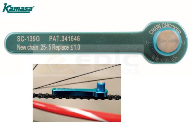 Kamasa Bicycle/Bike/Cycle/MTB Chain Checker Wear Measure Indicator Tool 56061