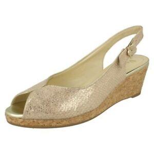 Ladies-Van-Dal-Cork-Wedge-Sandals-039-Gable-039