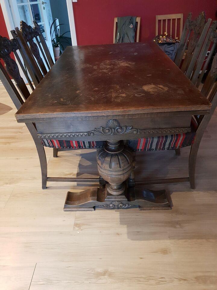 spisebord, 100 år gl.