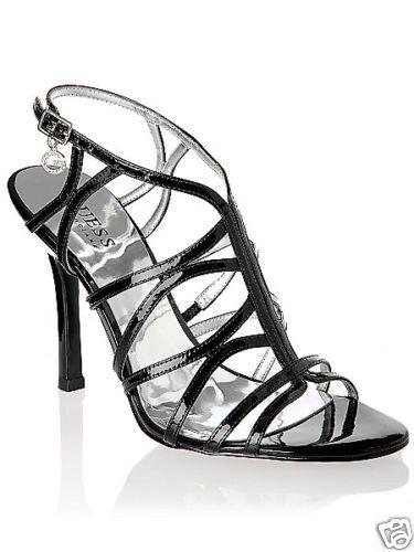 GUESS GUESS GUESS Escarpins shoes Sandales black Neuve 37 192548