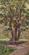 Ludwig Hans FISCHER (1848-1915) Marterl im Wald.