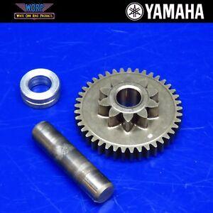 01-07-Yamaha-XT225-Serow-Engine-Electric-Start-Starter-Gear-Idler-Shaft