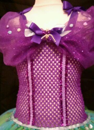 princess. Ariel little mermaid inspired tulle tutu dress,fancy dress