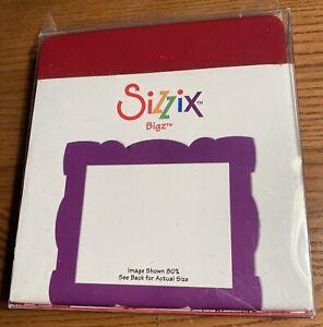 Die Cutter décoratif rectangle PLAQUE s/'adapte Sizzix BIGkick Big shot cuttlebug