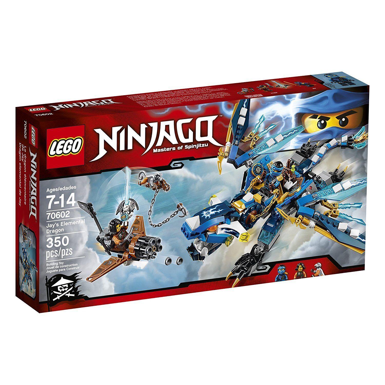 Lego 70602-NINJAGO-JAY 'S EleHommestal Dragon-nouveau & Sealed   expédition rapide