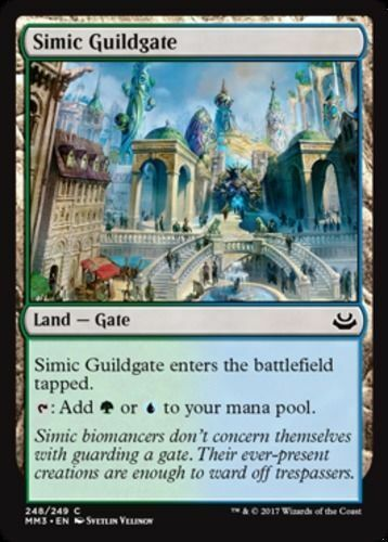 SPARROW MAGIC mtg NM 4x Simic Guildgate Modern Masters 2017