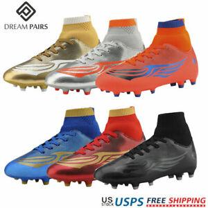 Dream Paires Garçons Filles Soccer Football Crampons Chaussures (Bébé/Petit enfant/Big Kid)