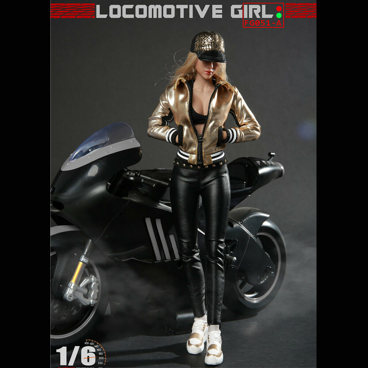 Fire Girl Toys FG051 1 6 Scale Locomotive Girl Cloth Set for 12  Action Figure