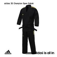 3-Stripe Taekwondo Hapkido Open Dobok Adidas ADI-OPEN 3S SUPER MASTER Uniform