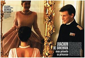 100% De Qualité Coupure De Presse Clipping 1995 (4 Pages) Joachim De Danemark Et Alexandra