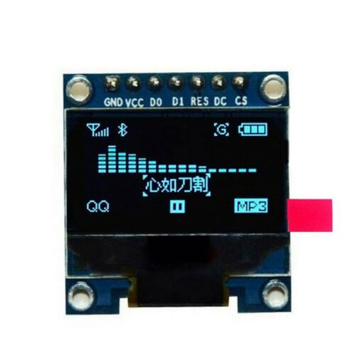 0,96 Zoll SPI Serial 128X64 OLED LCD Display SSD1306 fuer 51 STM32 Arduino  T7S9