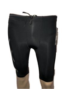 SAVE $$$ Black // Black Logo 2XUMens Compression Shorts