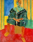 "Henri Matisse CANVAS PRINT Riffian Painting poster 24""X16"""