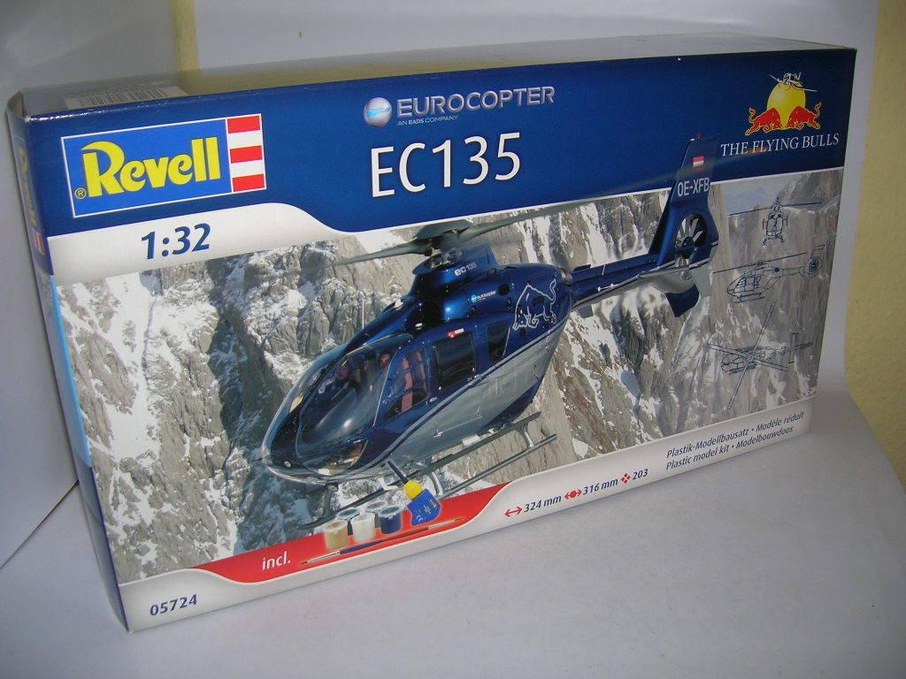 Revell Eurocopter EC135 the Flying Bulls Kit Helicopter Helicopter 05724