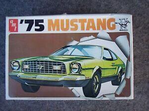 1975 AMT FORD MUSTANG II MODEL CAR KIT