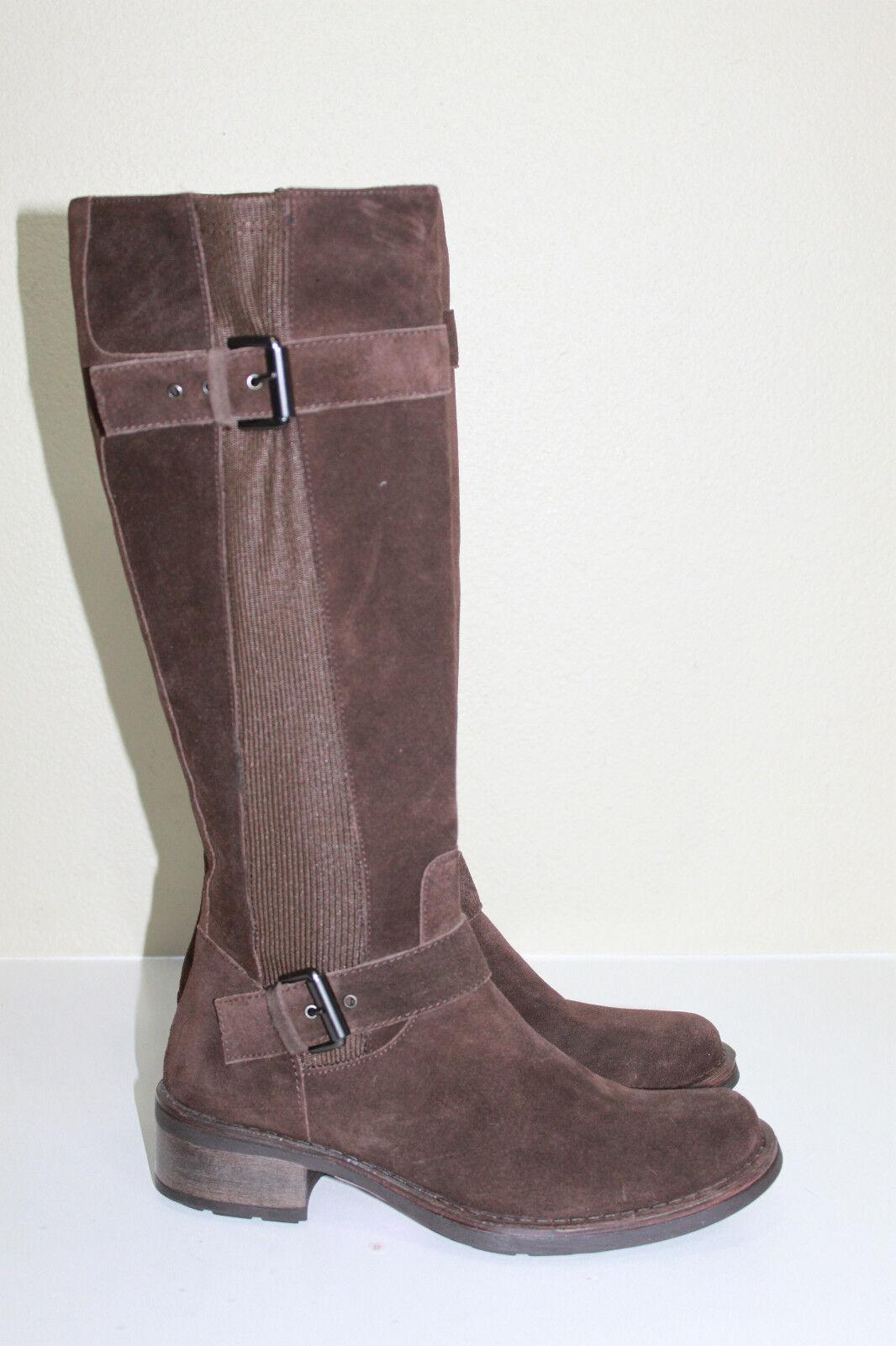 Nuevas Talla Talla Talla 6 Aquatalia By Marvin K Star resistente a la intemperie Gamuza Marrón Zapatos Bota  moda clasica