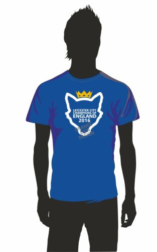 Leicester City FC Inspired Premier League Champions TShirt