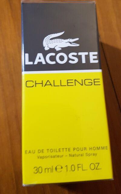 LACOSTE CHALLENGE POUR HOMME EDT VAPO SPRAY 30 ml RARO