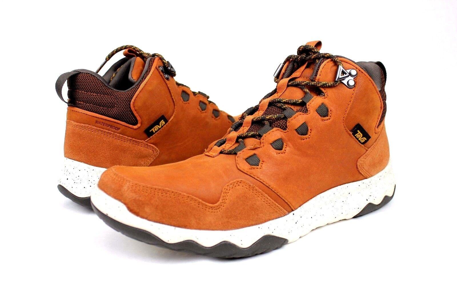 88c2a4101 Buy Teva Arrowood Lux Mid Waterproof Hiker BOOTS Cognac Size 10.5 ...